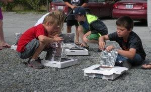 Funhouse solar pizza ovens