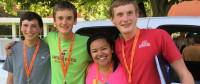 2015 Youth Rally Scholars at play