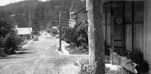 Eastsound (1930s). Provided by the Orcas Island Historical Societyty