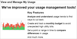 SmartHub My Usage