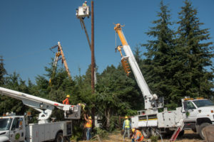 Lopez Outage Repair
