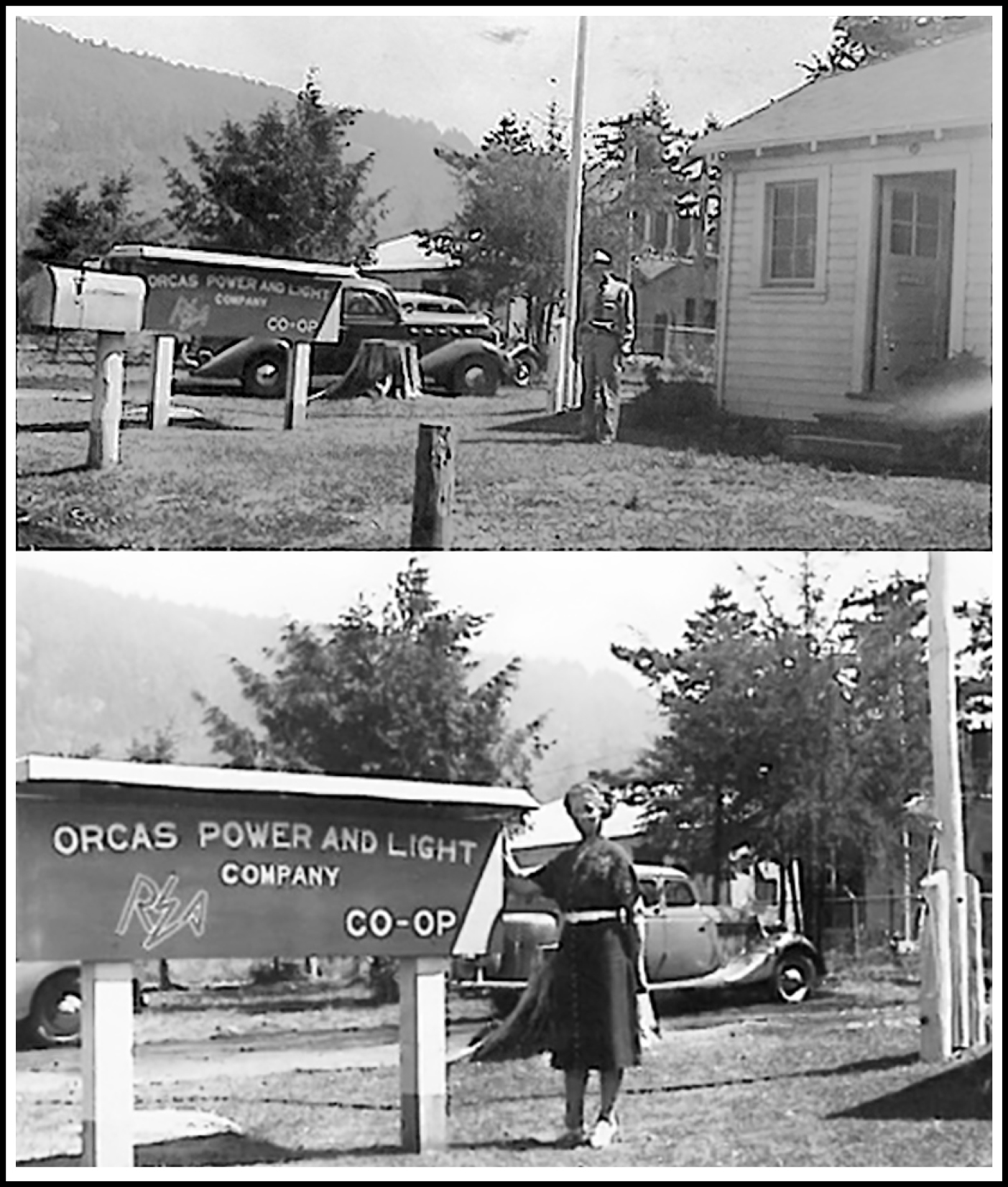 the original OPALCO headquarters in Eastsound