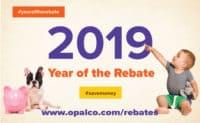 Year of the Rebate - 2019