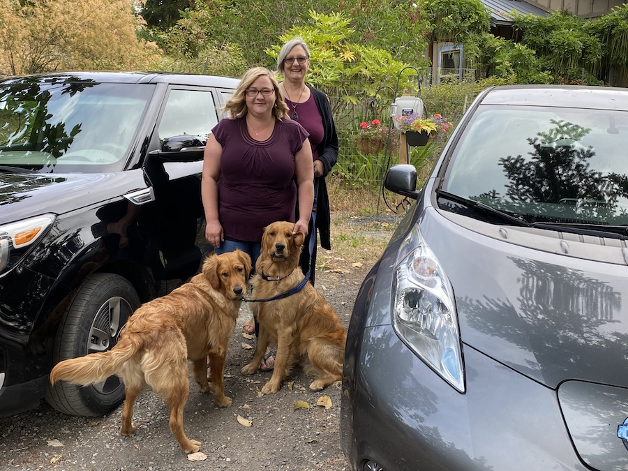 EV Happy Drivers and dogs